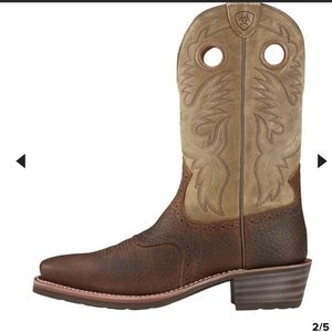 Ariat Heritage Roughstock Men's 9.5 leather boots